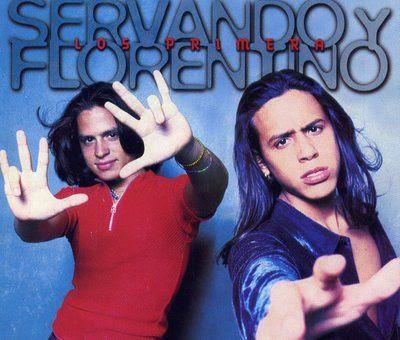 Foto de Servando y Florentino en portada de disco