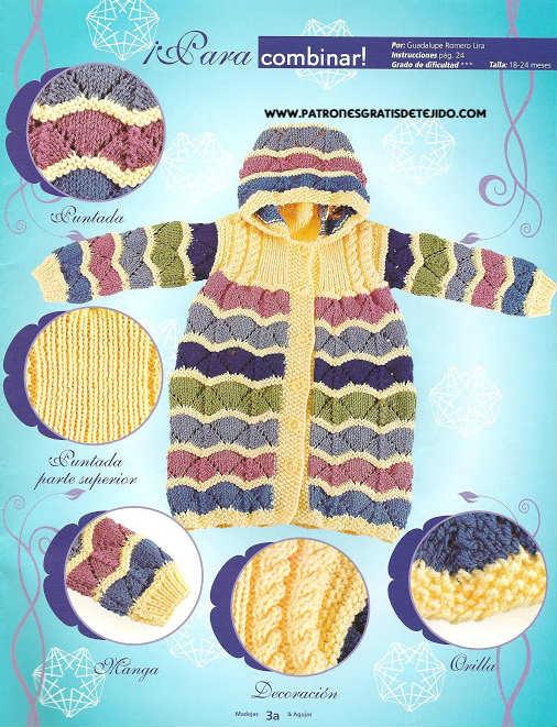 Revista gratis de tejido para bebes y niños