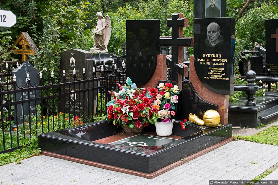 Валентин Бабукин. Могила на Ваганьковском кладбище. Москва