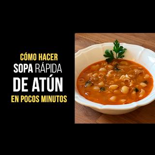 Sopa Rápida de Atún