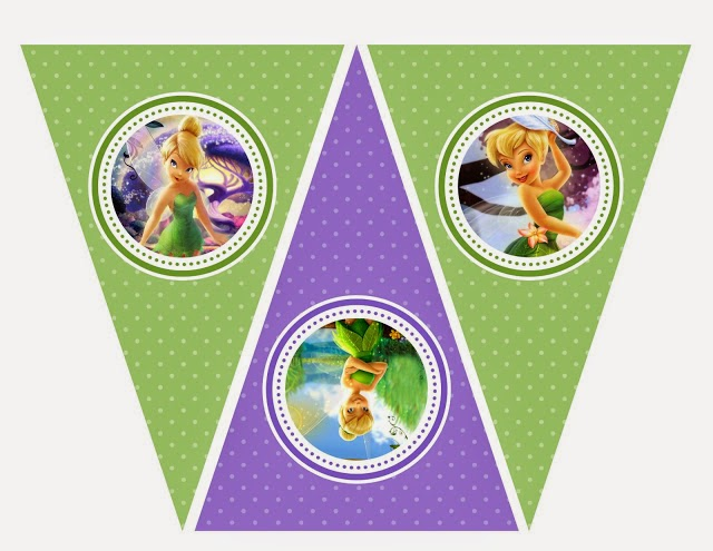 Tinkerbell Free Printable Kit For Parties Oh My Fiesta In English
