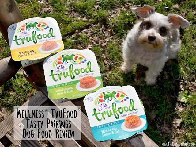 Wellness® TruFood® Tasty Pairings Dog Food Review by The Chesnut Mutts