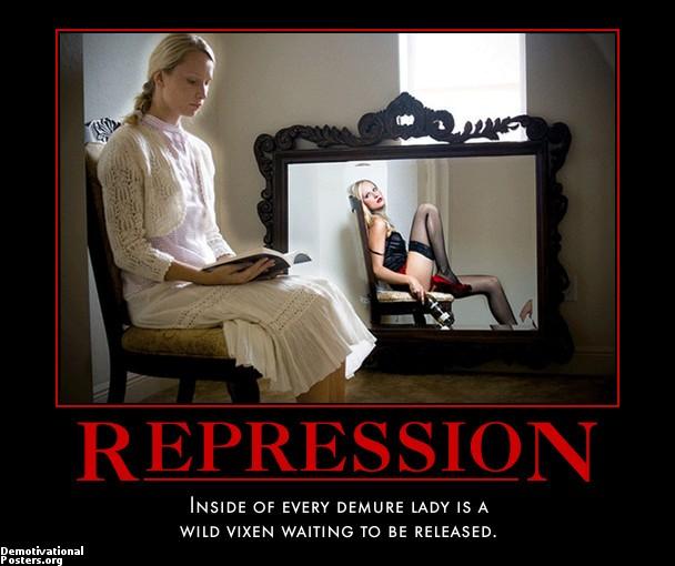 Repressed gone wild
