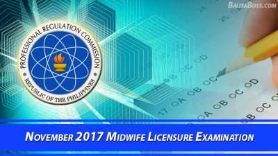 Midwife November 2017 Board Exam