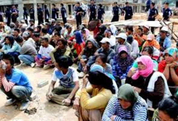 Imigrasi Malaysia razia pekerja ilegal besar-besaran