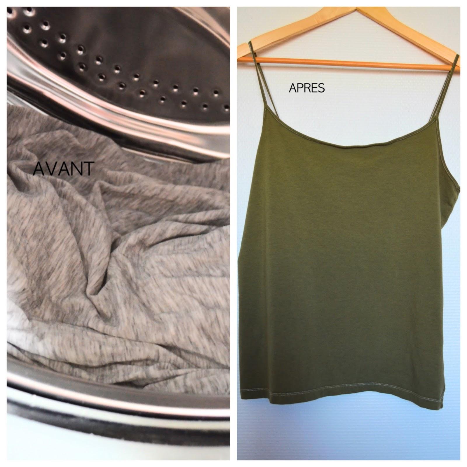 Changer de couleur de v tement ou de d coration c 39 est possible avec ideal - Teinture textile kaki ...