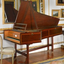 HAYDN'S GRAND PIANO by Longman & Broderip, London, 1794-95 with a compass of 5½ octaves
