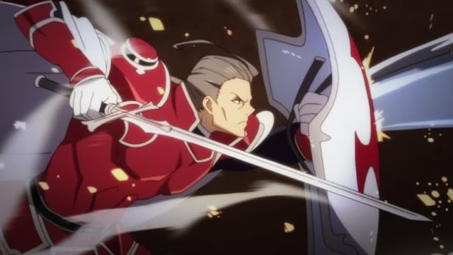 Heathcliff [ Sword Art Online ] - Karakter Player Anime Dalam Dunia Game Terkuat