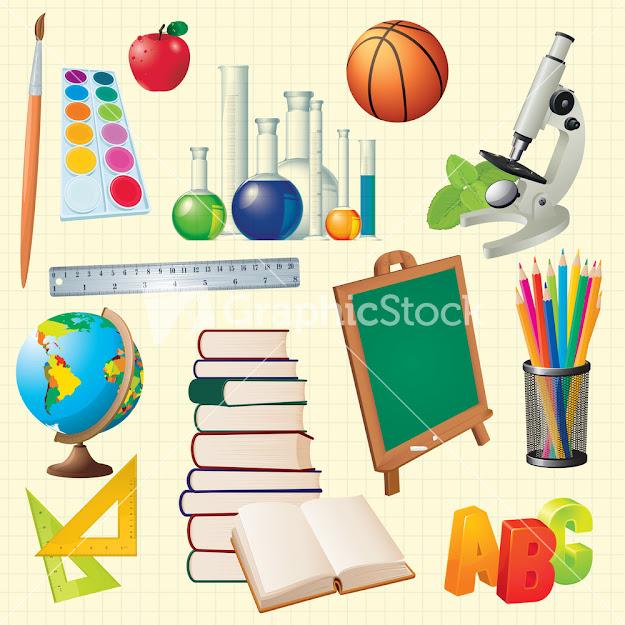 Science Back To School Vector Design Elements