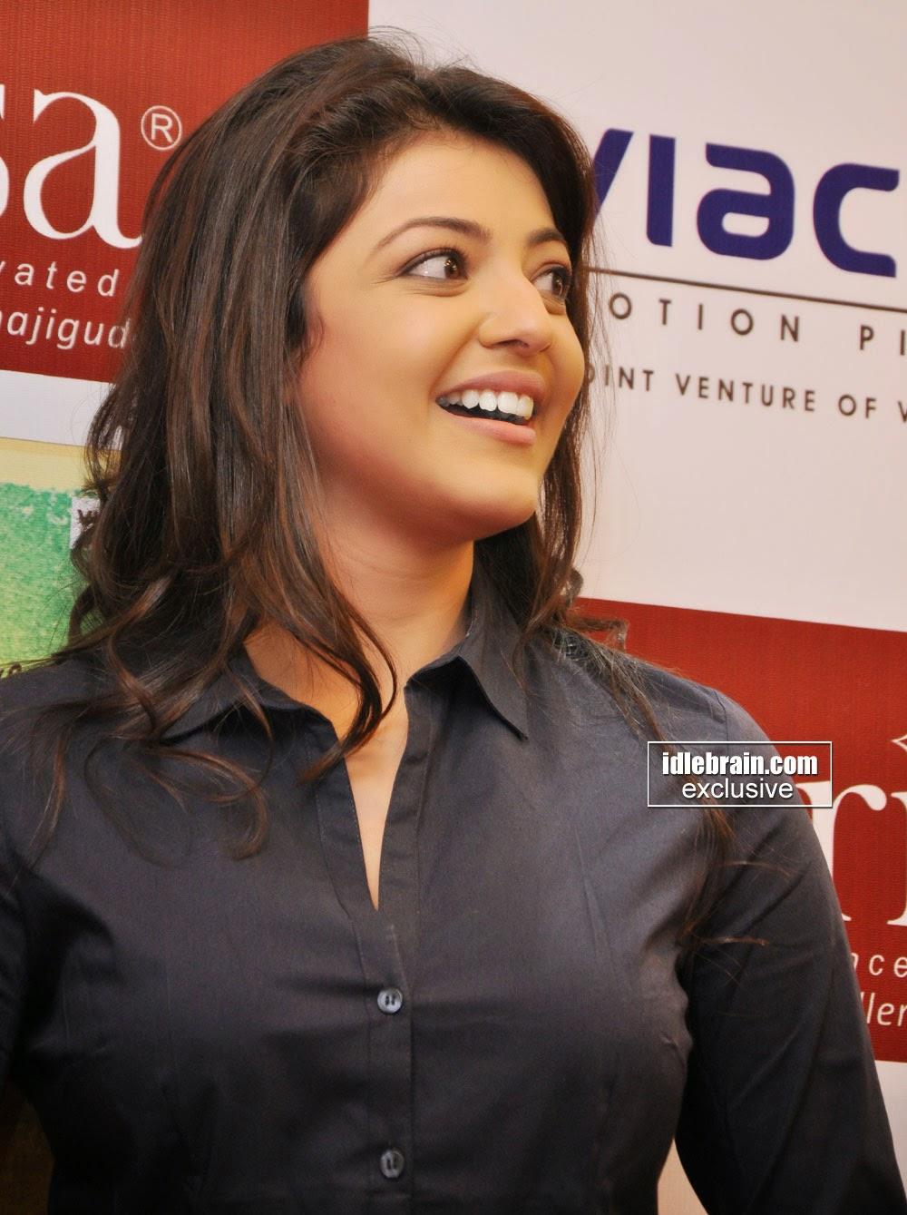 skjl : Kajal Agarwal tight stills Photos At Special ...