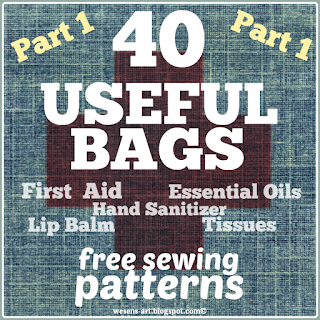 40 usefulBags wesens-art.blogspot.com
