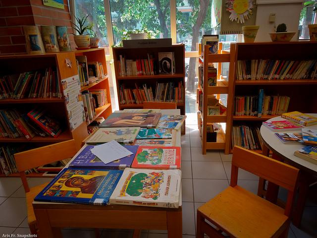Αφήγηση παραμυθιού στη βιβλιοθήκη Άνω Τούμπας