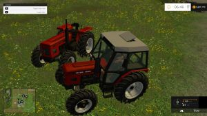 Zetor 7045 and 6945 tractors pack