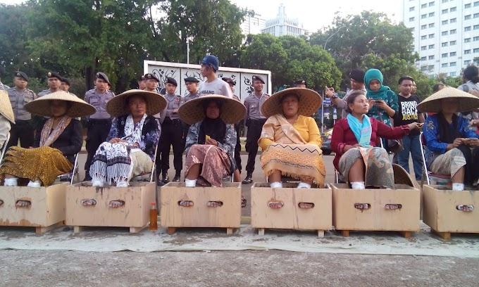 Babak Baru Perjuangan Perempuan Petani Kendeng Menolak Pabrik