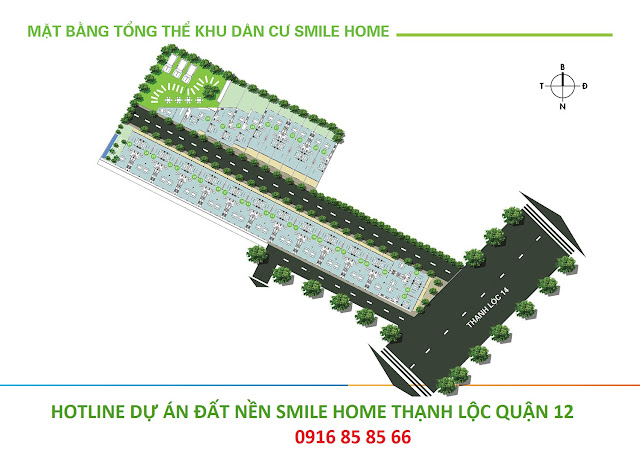 mat bang phan lo du an smile home thanh loc