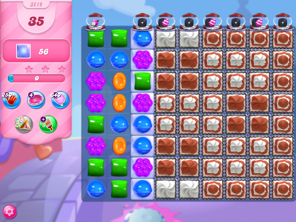 Candy Crush Saga level 3219