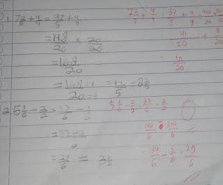 perbedaan jawaban siswa dengan jawaban guru