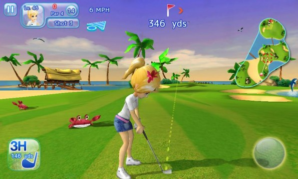 Let's Golf 3 HD available free for Android