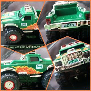 Hess Monster Truck mini collage