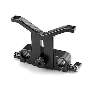 SmallRig 15mm Long Lens Support Bracket Height Adjustable for DSLR Camera Shoulder Rig (New) --- 1087
