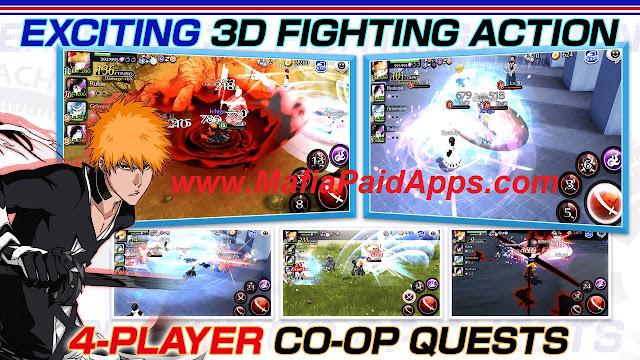 BLEACH Brave Souls mod Apk MafiaPaidApps