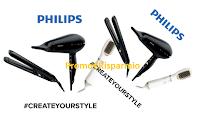 Logo Concorso ''Crea il tuo stile'' e con Testanera vinci 244 prodotti per capelli Philips