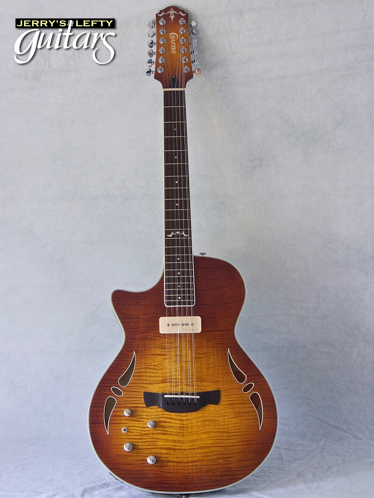 jerry 39 s lefty guitars newest guitar arrivals updated weekly crafter sa 12 used 12 string left. Black Bedroom Furniture Sets. Home Design Ideas