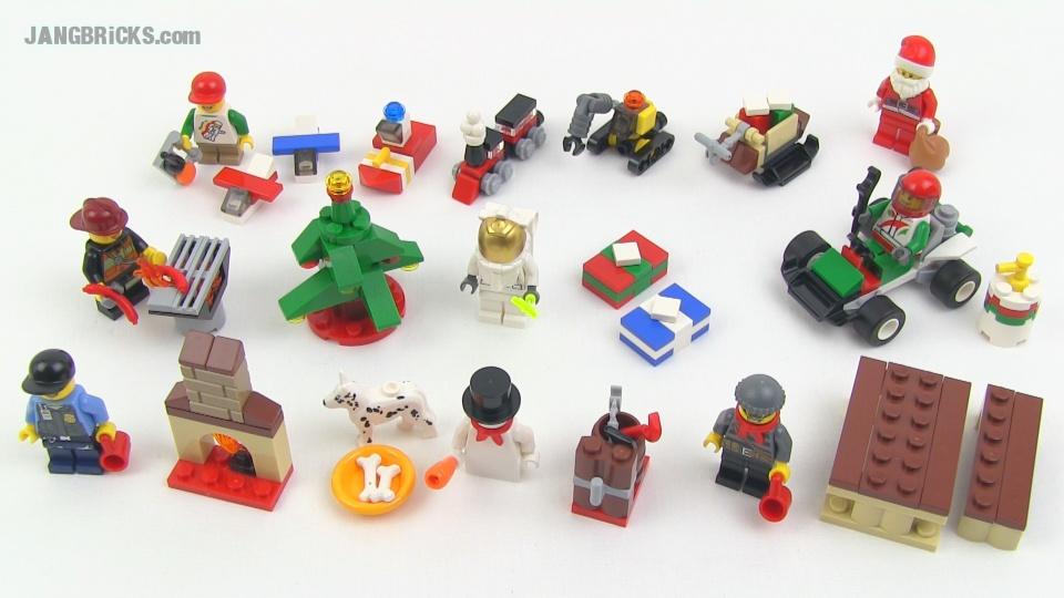 Lego City 2013 Advent Calendar Set Review