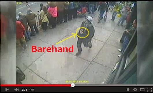 JAHAR'S FINGERPRINT WASN'T DETECTED FROM HIS BACKPACK.