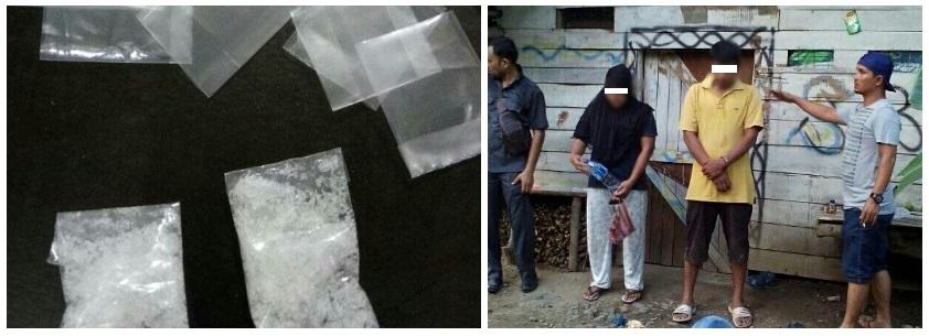 3 orang di tangkap di Desa Redeup Kec.Montasik Kab.Aceh Besar