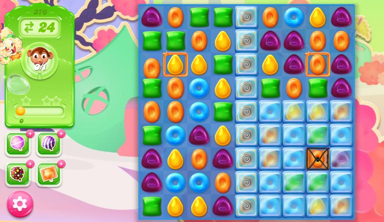 Candy Crush Jelly Saga 376