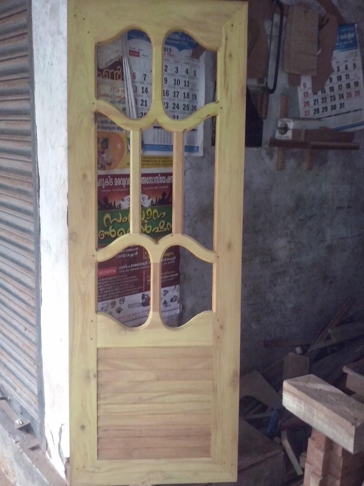 Bavas Wood Works Pooja Room Door Frame And Door Designs: BAVAS WOOD WORKS: Window Door Design Pictures