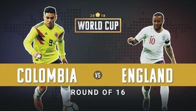 كورة اون لاين | مشاهدة بث مباشر مباراة إنجلترا وكولومبيا اليوم في كأس العالم 2018 بث مباشر