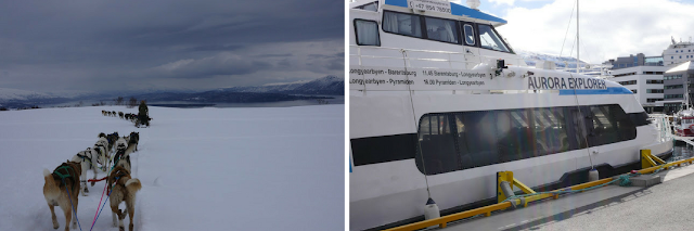 Sled dogs and sea cruises to observe the aurora borealis are just a few activities to engage in. Photos by Muir Evenden.