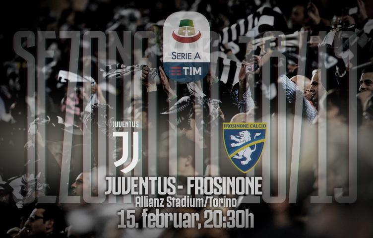 Serie A 2018/19 / 24. kolo / Juventus - Frosinone, petak, 20:30h
