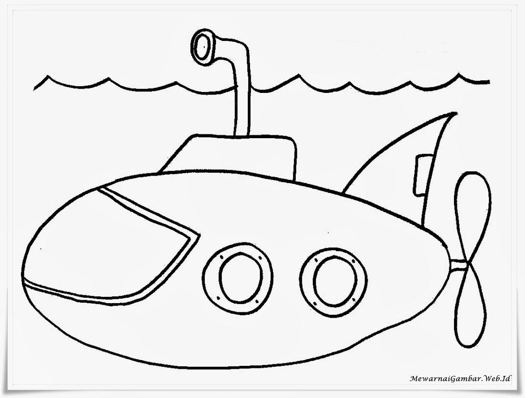 Gambar sketsa kapal selam 28 images mewarnai gambar