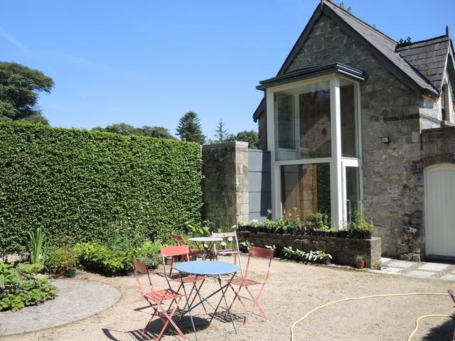 Sitzplatz in June Blake's Garden