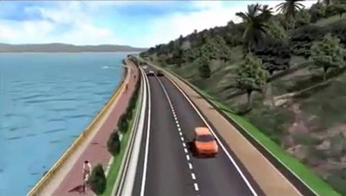 Wisata Danau Toba | Rencana Jalan Lingkar Samosir Danau Toba