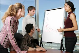 Saat meeting atau pertemuan bisnis