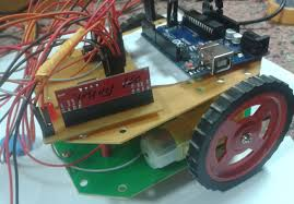 RF Controlled Robotic Vehicle