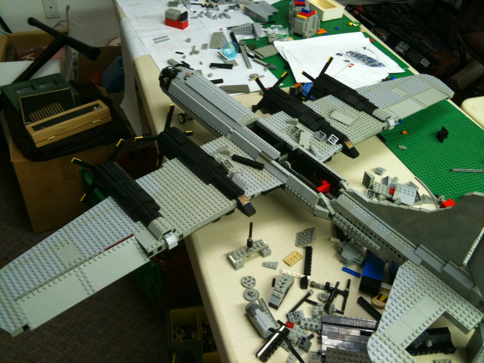 My LEGO Portfolio  B 29 Superfortress  Part 2  As I build each of my models  I am constantly evaluating and changing my  plans  I might tweak something here  another thing there