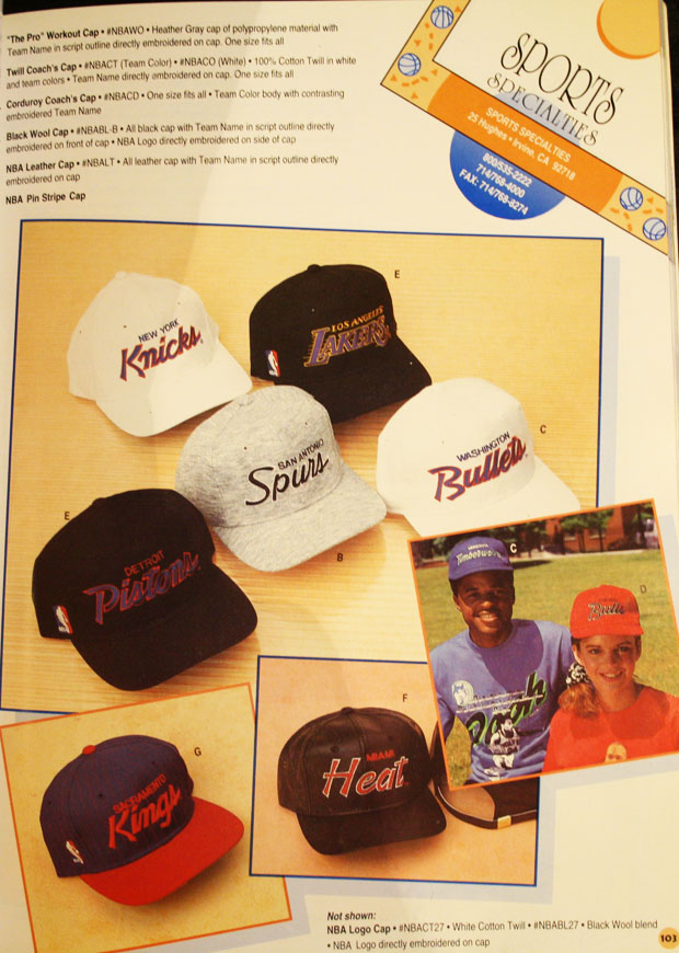 85d5912d Some teams' logos were so inexorably associated with the team and its  merchandise, that Sports Specialties felt obliged to accommodate those  teams ...