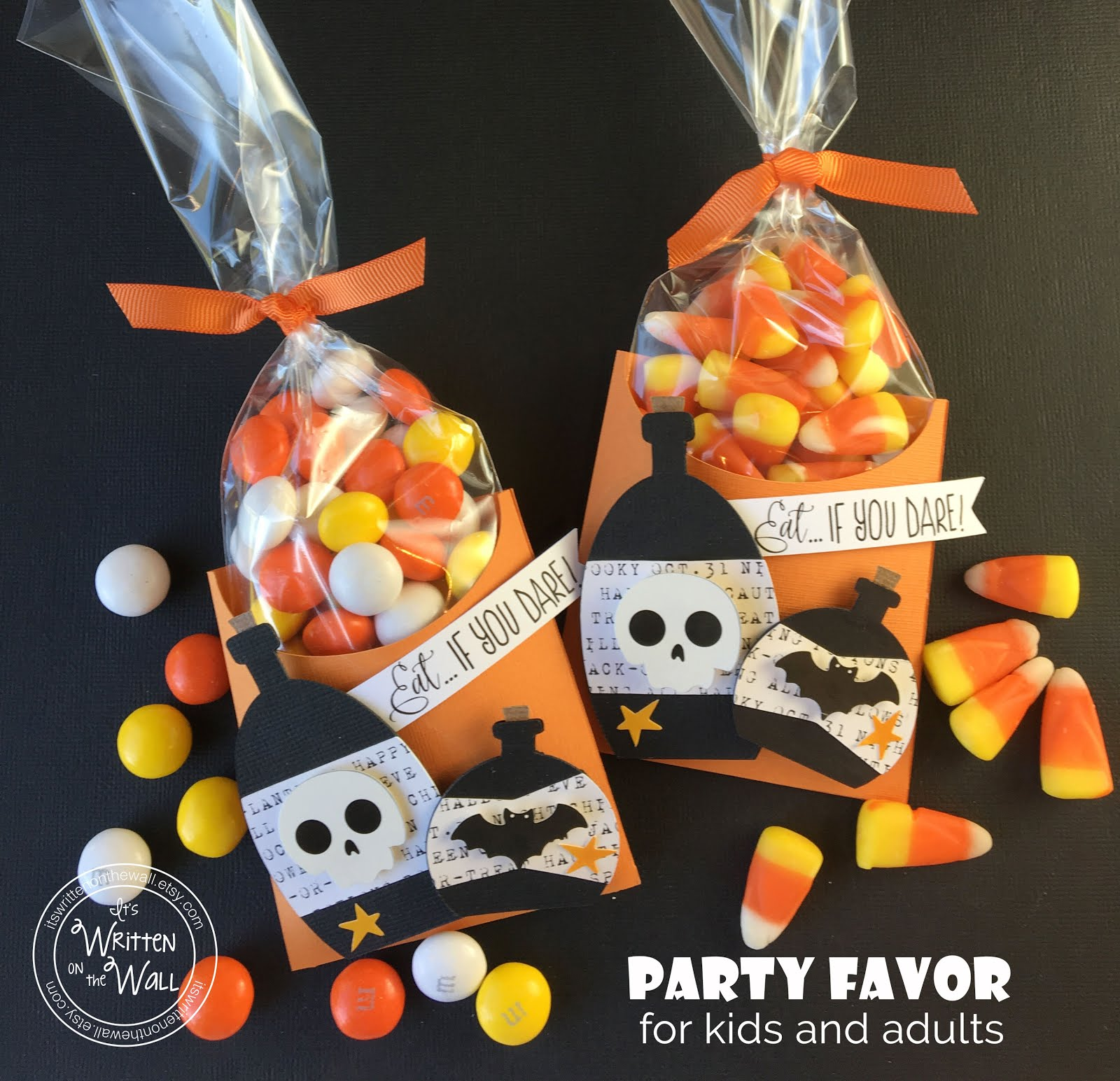 Halloween Potion Bottles Treat Box
