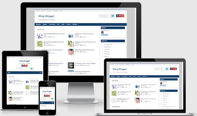 Tri ân khách hàng tặng template blogspot cá nhân chuẩn seo