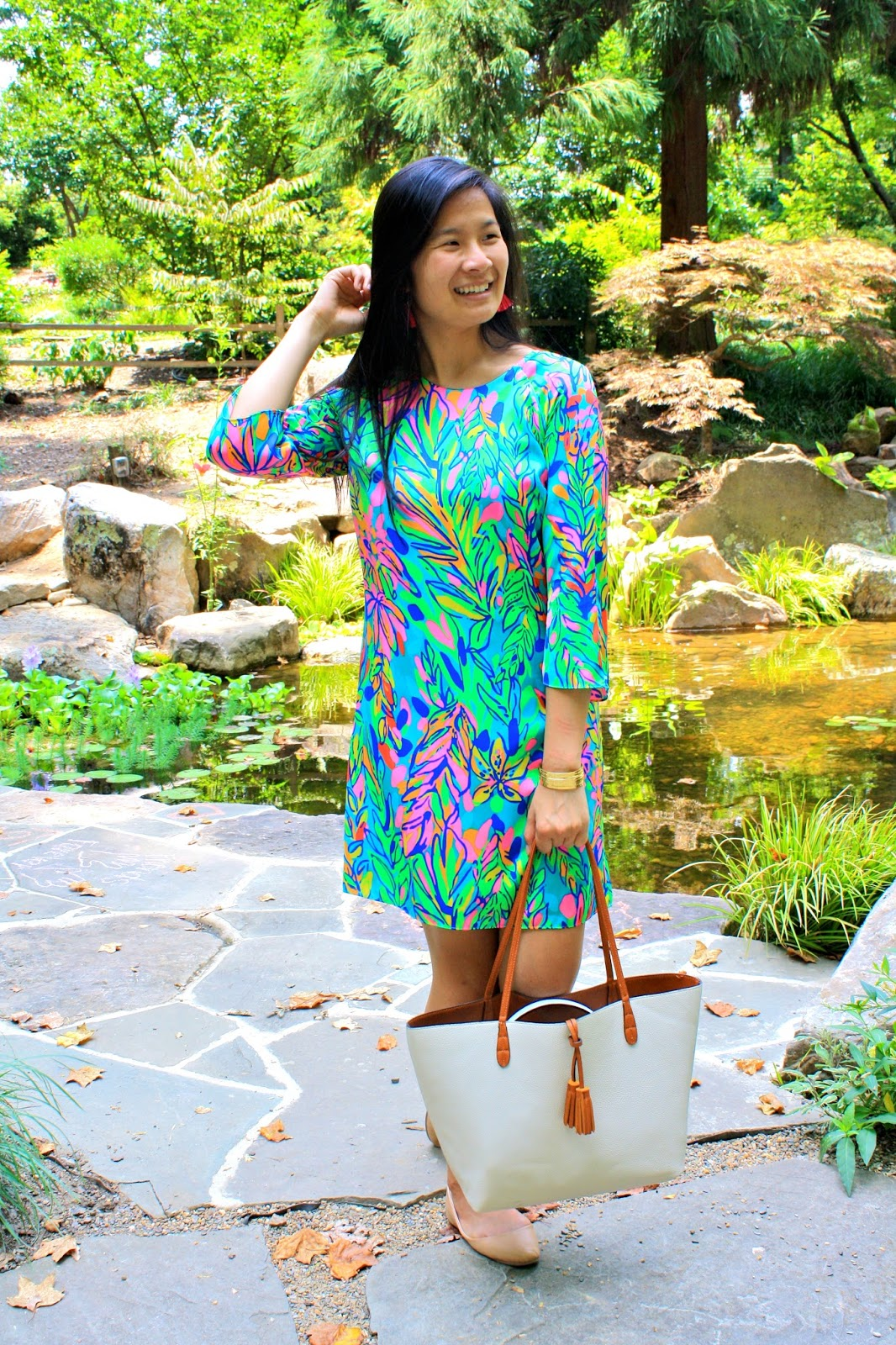 Lilly Pulitzer Hot Spot print dress
