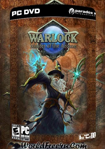 Cover Of Warlock Master of the Arcane Full Latest Version PC Game Free Download Mediafire Links At worldfree4u.com