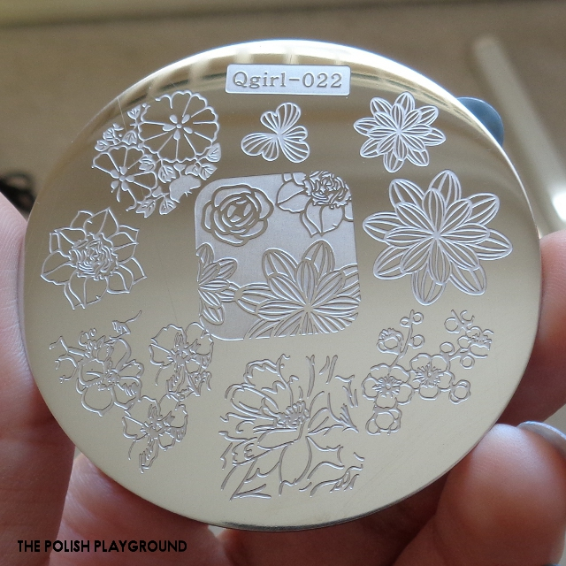 Born Pretty Store - Stamping Plate Qgirl-022 Review