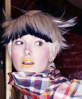 two tone hair color ideas 2012