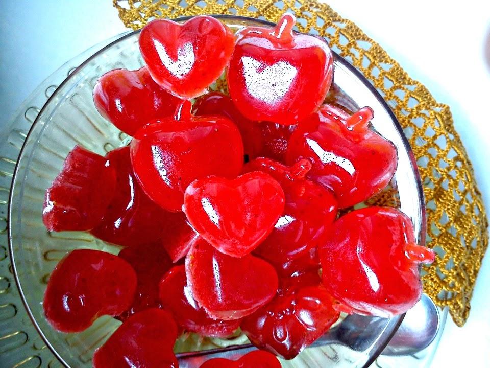Rezultat slika za domaće gumene bombone od jagode
