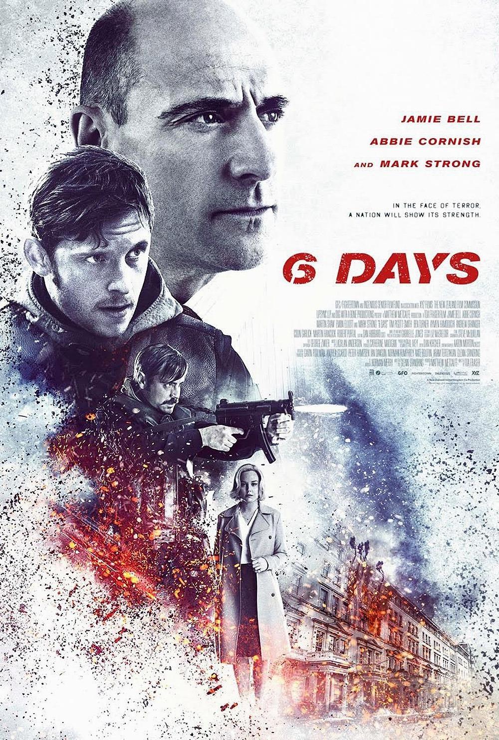 6 dni film recenzja jamie bell mark strong abbie cornish